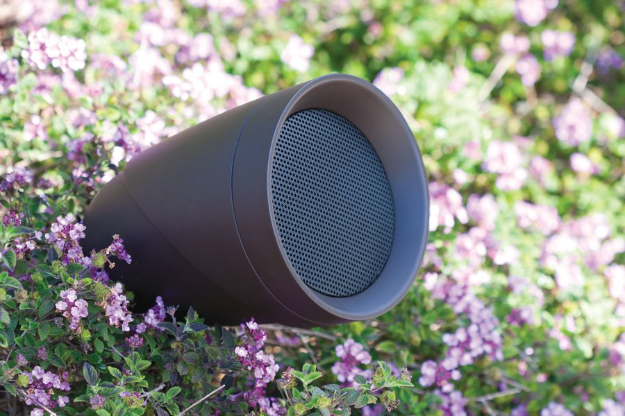 Outdoor Speaker Systems Blend in with Your Entire Backyard
